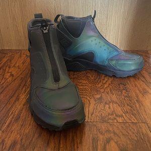 Nike Air Huarache Run Mid iridescent sneakers